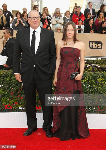 Actor Ed O'Neill and Sophia O'Neill attend the 22nd Annual Screen Actors Guild Awards at The Shrine Auditorium on January 30 2016 in Los Angeles...