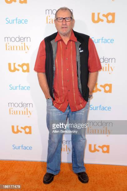 Actor Ed O'Neill arrives at the Modern Family Fan Appreciation Day hosted by USA Network at Westwood Village on October 28 2013 in Los Angeles...