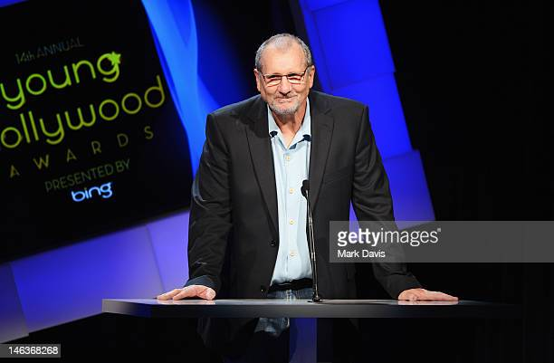 Actor Ed O'Neill speaks during the 14th Annual Young Hollywood Awards presented by Bing at Hollywood Athletic Club on June 14 2012 in Hollywood...