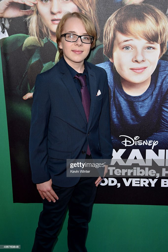 "Premiere Of Disney's ""Alexander And The Terrible, Horrible, No Good, Very Bad Day"" - Red Carpet"