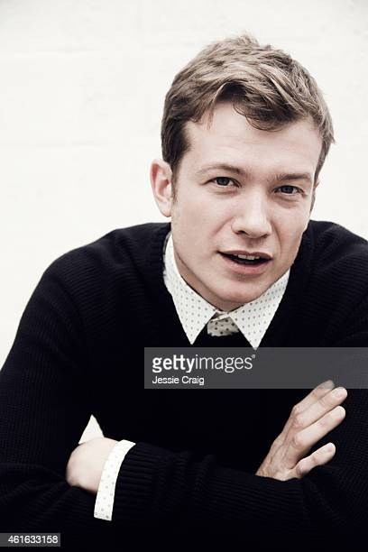 Actor Ed Speleers is photographed for SID magazine on September 11 2014 in London England