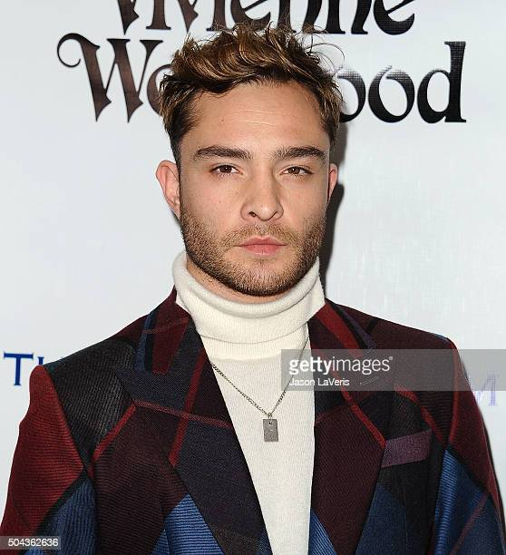 Actor Ed Westwick attends Art of Elysium's 9th annual Heaven Gala at 3LABS on January 9 2016 in Culver City California