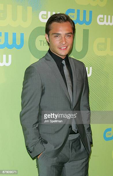 Actor Ed Westwick attends the 2009 The CW Network UpFront at Madison Square Garden on May 21 2009 in New York City