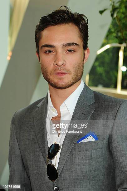 Actor Ed Westwick attends the 2010 CFDA Fashion Awards at Alice Tully Hall Lincoln Center on June 7 2010 in New York City