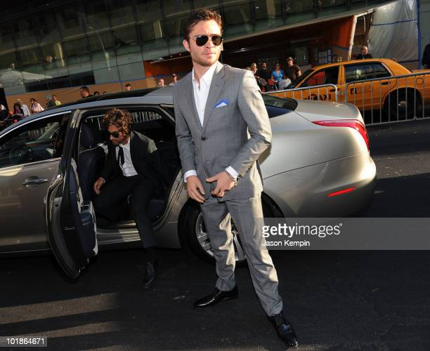 Actor Ed Westwick attends the 2010 CFDA Fashion Awards at Alice Tully Hall Lincoln Center on June 7 2010 in New York New York