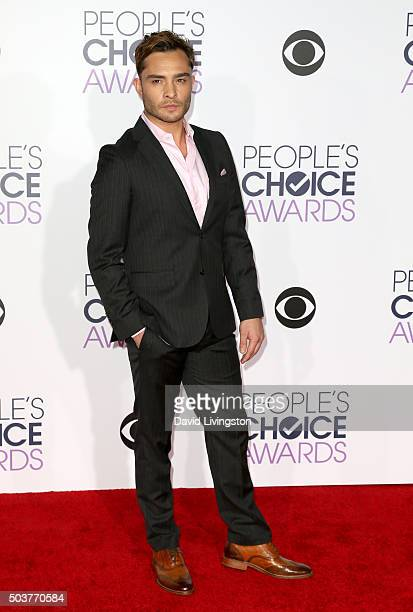 Actor Ed Westwick attends the People's Choice Awards 2016 at Microsoft Theater on January 6 2016 in Los Angeles California