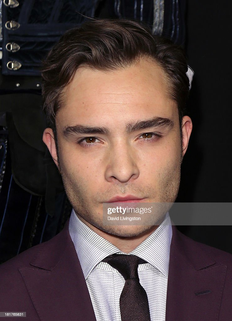 Actor Ed Westwick attends the premiere of Relativity Media's 'Romeo & Juliet' at ArcLight Hollywood on September 24, 2013 in Hollywood, California.