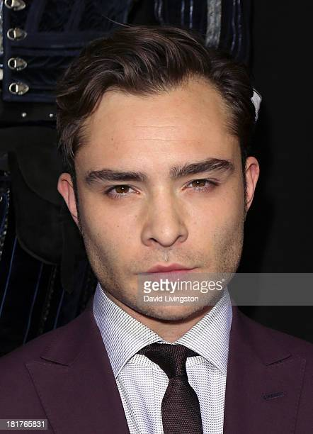 Actor Ed Westwick attends the premiere of Relativity Media's 'Romeo Juliet' at ArcLight Hollywood on September 24 2013 in Hollywood California