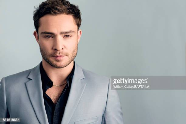 Actor Ed Westwick poses for a portrait BBC America BAFTA Los Angeles TV Tea Party 2017 at the The Beverly Hilton Hotel on September 16 2017 in West...