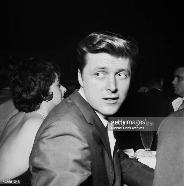 Actor Edd Byrnes attends a party in Los Angeles, California.