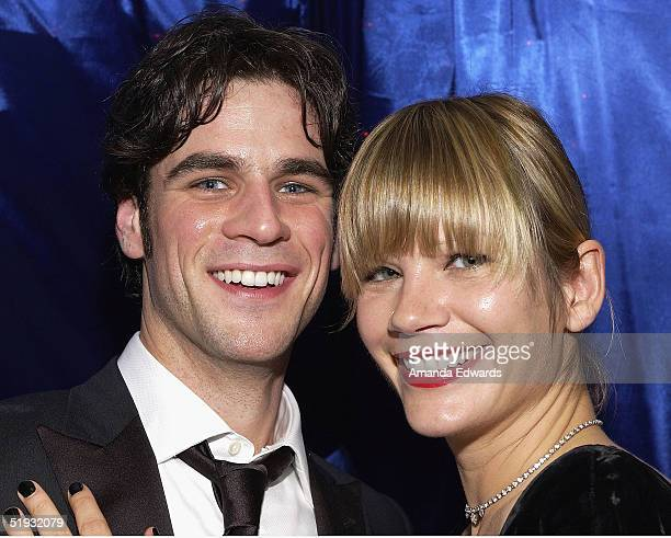 Actor Eddie Cahill and guest are seen at the Distinctive Assets Gift Lounge during the Peoples Choice Awards at the Pasadena Civic Auditorium on...
