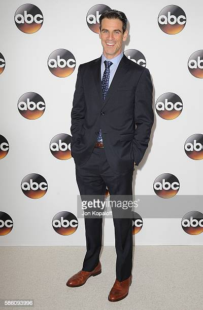 Actor Eddie Cahill arrives at Disney ABC Television Group Hosts TCA Summer Press Tour at the Beverly Hilton Hotel on August 4 2016 in Beverly Hills...