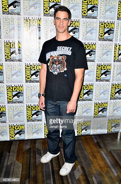 Actor Eddie Cahill attends CBS Television Studios' series press lines 'Reign' 'Under The Dome' and 'Scorpion' during ComicCon International 2014 at...
