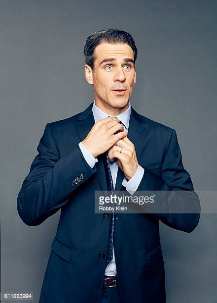 Actor Eddie Cahill from the show 'Notorious' is photographed for The Wrap on August 5 2016 in Beverly Hills California
