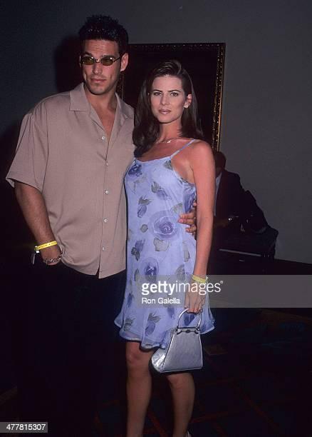 Actor Eddie Cibrian and actress Julianne Morris attend the Westin Rio Mar Beach Resort Celebrity Sports Invitational Chefs of Puerto Rico AllStar...