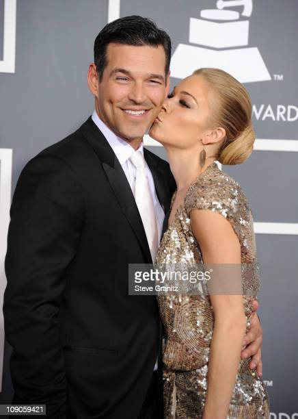 Actor Eddie Cibrian and singer Leann Rimes arrives at The 53rd Annual GRAMMY Awards held at Staples Center on February 13 2011 in Los Angeles...