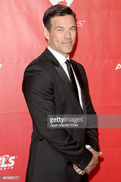 Actor Eddie Cibrian attends The 2014 MusiCares Person Of The Year Gala Honoring Carole King at Los Angeles Convention Center on January 24 2014 in...