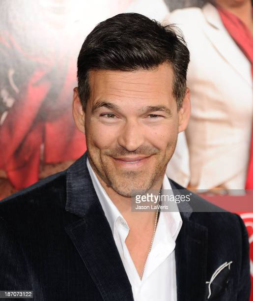 Actor Eddie Cibrian attends the premiere of The Best Man Holiday at TCL Chinese Theatre on November 5 2013 in Hollywood California