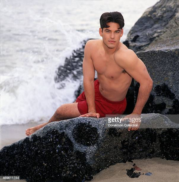Actor Eddie Cibrian poses for a portrait in 1996 in Los Angeles California