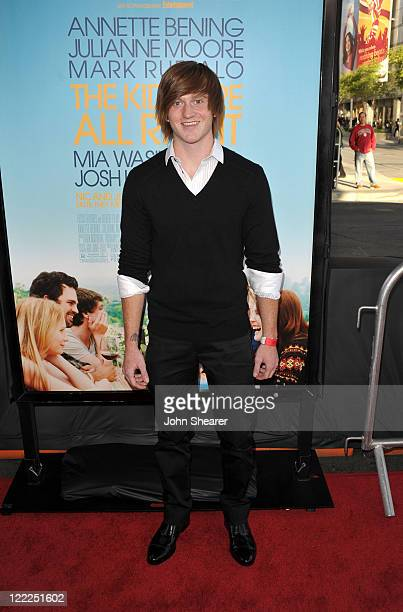 """Actor Eddie Hassell arrives at """"The Kids Are All Right"""" premiere during the 2010 Los Angeles Film Festival held at Regal Cinemas at LA Live Downtown..."""