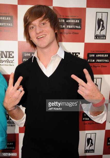 """Actor Eddie Hassell arrives at the premiere of Focus Features' """"The Kids Are All Right"""" during the 2010 Los Angeles Film Festival held at Regal..."""