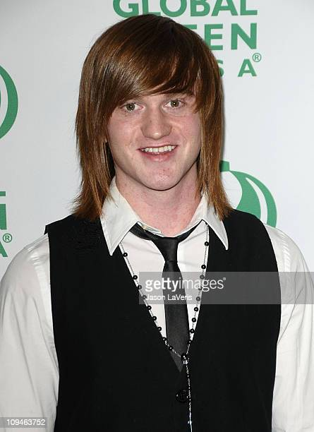 Actor Eddie Hassell attends the Global Green USA 8th annual pre-Oscar party at Avalon on February 23, 2011 in Hollywood, California.