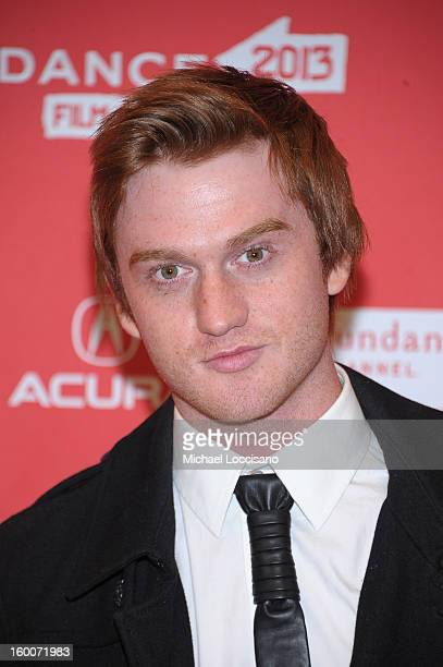 """Actor Eddie Hassell attends the """"jOBS"""" Premiere during the 2013 Sundance Film Festival at Eccles Center Theatre on January 25, 2013 in Park City,..."""