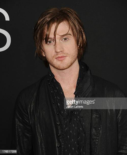 """Actor Eddie Hassell attends the premiere of """"Jobs"""" at Regal Cinemas L.A. Live on August 13, 2013 in Los Angeles, California."""
