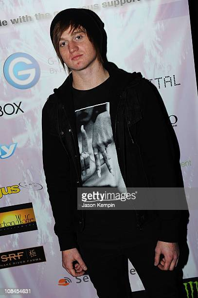Actor Eddie Hassell attends the Smashbox Tweet House on January 24, 2010 in Park City, Utah.