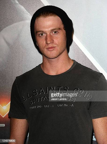 """Actor Eddie Hassell attends the """"X-Men: First Class"""" 3D projection party at The Roosevelt Hotel on September 8, 2011 in Hollywood, California."""