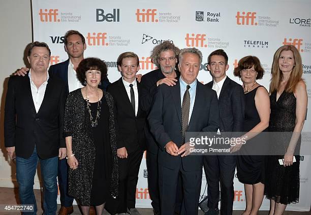 Actor Eddie Izzard actor Josh Lucas producer Carol Baum actor Garrett Wareing director Francois Girard actor Dustin Hoffman actor Kevin McHale...