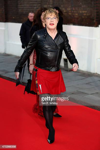 Actor Eddie Izzard arrives at The Old Vic Theatre for a gala celebration in honour of Kevin Spacey as the artistic director's tenure comes to an end...