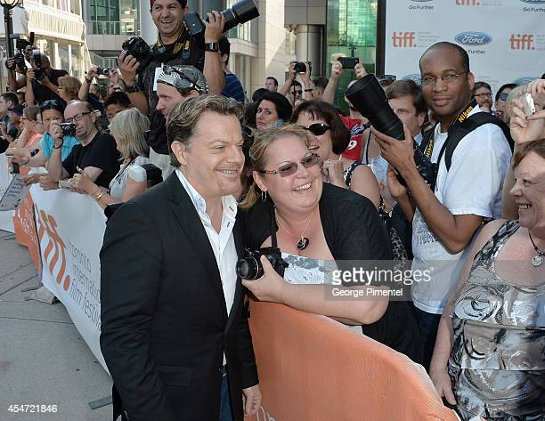 Actor Eddie Izzard attends the Boychoir premiere during the 2014 Toronto International Film Festival at Roy Thomson Hall on September 5 2014 in...