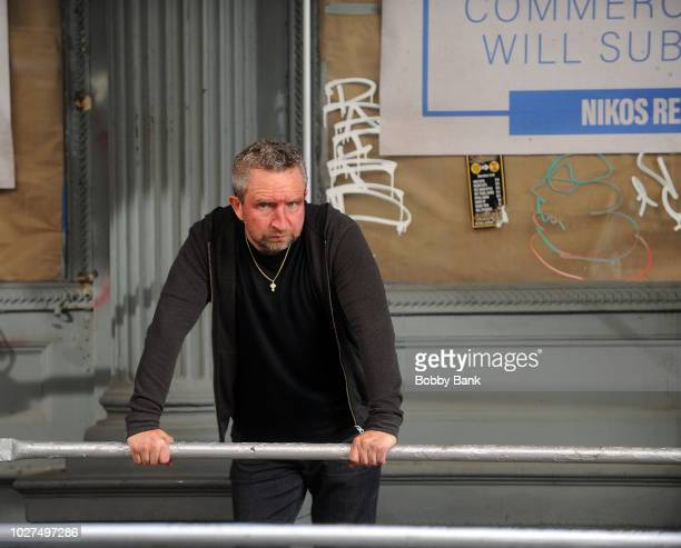 Actor Eddie Marsan as Terry Donovan is seen on the set of Ray Donovan on September 5 2018 in New York City