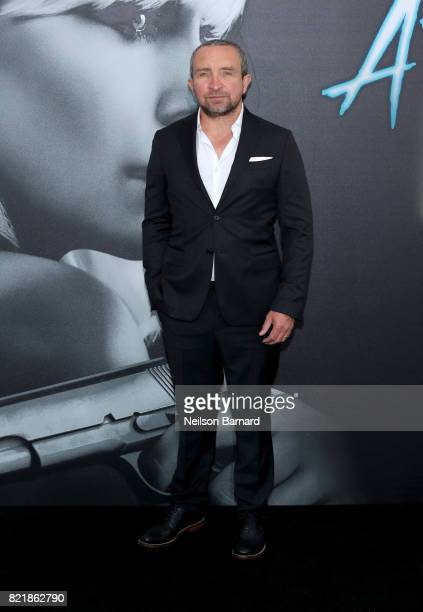 Actor Eddie Marsan attends Focus Features' Atomic Blonde premiere at The Theatre at Ace Hotel on July 24 2017 in Los Angeles California