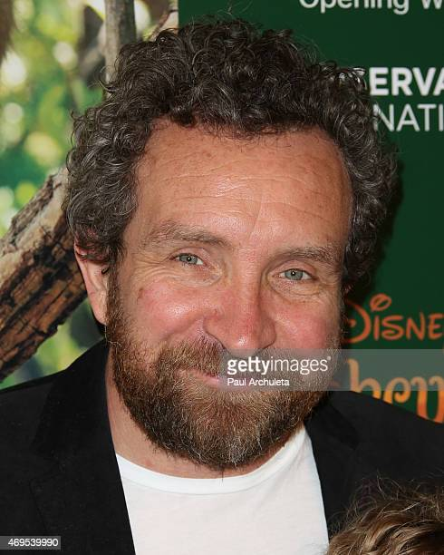 Actor Eddie Marsan attends the premiere of Monkey Kingdom at the Pacific Theaters at the Grove on April 12 2015 in Los Angeles California