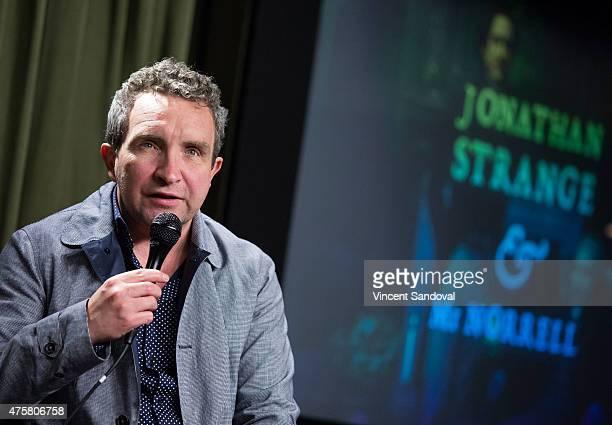 Actor Eddie Marsan attends The SAG Foundation hosts Jonathan Strange Mr Norrell special screening and QA at SAG Foundation Actors Center on June 3...