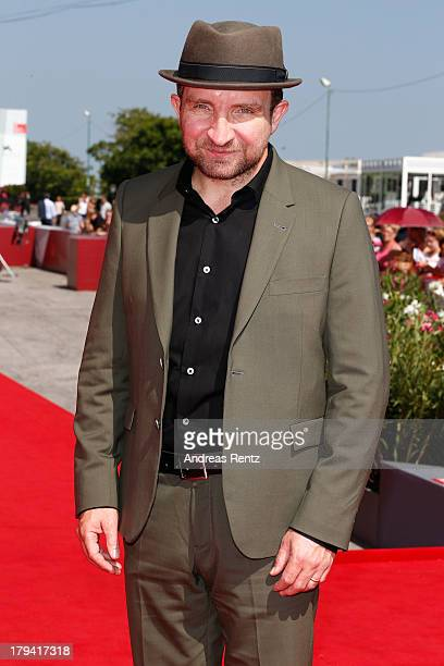 Actor Eddie Marsan attends the 'Still Life' Premiere during the 70th Venice International Film Festival at the Palazzo del Casino on September 3 2013...