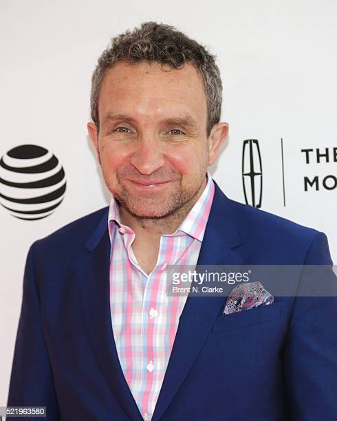 Actor Eddie Marsan attends the world premiere of 'A Kind of Murder' during the 2016 Tribeca Film Festival held at the SVA Theatre 2 on April 17 2016...