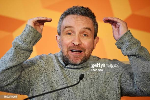 Actor Eddie Marsan speaks as the Liberal Democrats unveil their plan for equalities and human rights as part of their election manifesto at Glaziers...