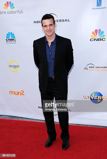 Actor Eddie McClintock arrives at the Cable Show 2010 featuring an evening with NBC Universal at Universal Studios Hollywood on May 12 2010 in...