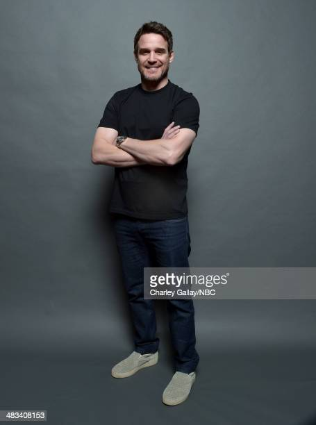 Actor Eddie McClintock poses for a portrait during the 2014 NBCUniversal Summer Press Day at The Langham Huntington on April 8, 2014 in Pasadena,...
