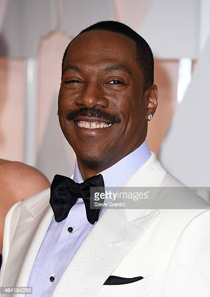 Actor Eddie Murphy attends the 87th Annual Academy Awards at Hollywood Highland Center on February 22 2015 in Hollywood California