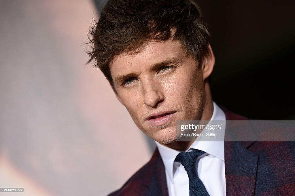 Actor Eddie Redmayne arrives at the premiere of Focus Features' 'The Danish Girl' at Westwood Village Theatre on November 21, 2015 in Westwood, California.