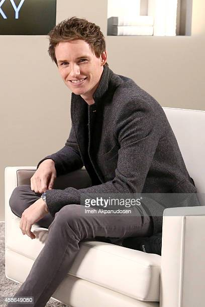 Actor Eddie Redmayne attends day one of Variety Studio Actors On Actors presented by Samsung Galaxy on November 8 2014 in Los Angeles California