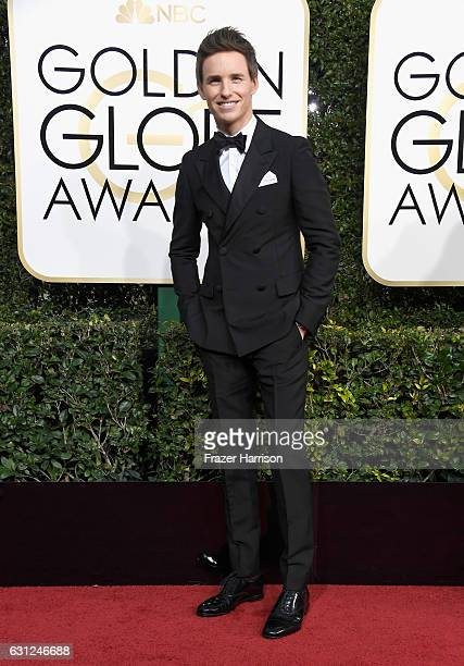 Actor Eddie Redmayne attends the 74th Annual Golden Globe Awards at The Beverly Hilton Hotel on January 8 2017 in Beverly Hills California