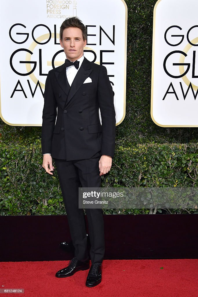 Actor Eddie Redmayne attends the 74th Annual Golden Globe Awards at The Beverly Hilton Hotel on January 8, 2017 in Beverly Hills, California.