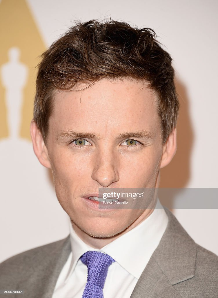Actor Eddie Redmayne attends the 88th Annual Academy Awards nominee luncheon on February 8, 2016 in Beverly Hills, California.