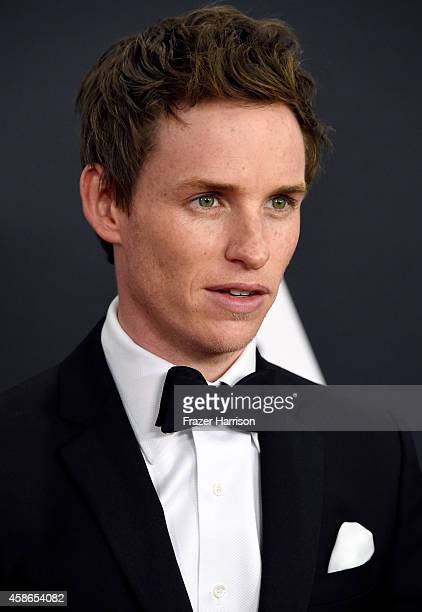Actor Eddie Redmayne attends the Academy Of Motion Picture Arts And Sciences' 2014 Governors Awards at The Ray Dolby Ballroom at Hollywood Highland...