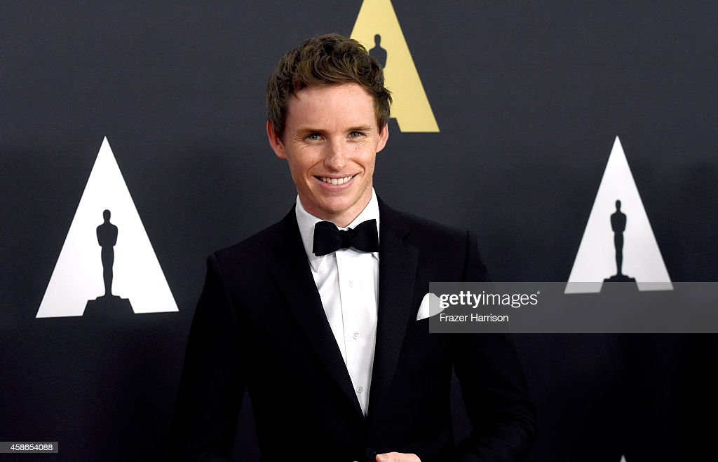 Actor Eddie Redmayne attends the Academy Of Motion Picture Arts And Sciences' 2014 Governors Awards at The Ray Dolby Ballroom at Hollywood & Highland Center on November 8, 2014 in Hollywood, California.